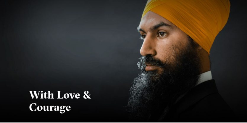 With #LoveAndCourage Is More Than a Slogan, It's A Way of Living